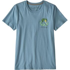 Patagonia Fiber Activist Organic Camiseta manga larga Mujer, berlin blue